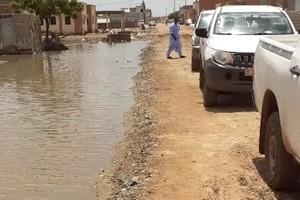 Mauritanie : à Rosso, les inondations interrompent la circulation