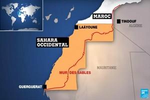 El Guergarat : Les transporteurs routiers soulagés après la mise en place d'un cordon de sécurité