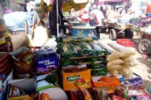 Nouakchott/Santé : Saisie d'une importante quantité de produits alimentaires périmés