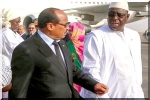 Macky Sall à  Nouakchott, mercredi, pour une conférence sur la transparence des pêches