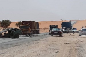 Route de l'Espoir : un poids lourd percute violemment un véhicule léger, faisant des morts et des blessés