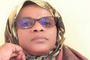 Séniya Yarahallah, militante des Droits de l'homme :