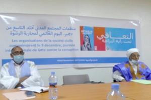 La société civile mauritanienne célèbre la Journée internationale de lutte contre la corruption