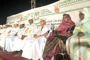 Nouakchott/Sécurité: L'Organisation des femmes du parti Tawassoul en sit-in devant la DGSN