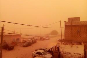 Vidéo. Sahara-Sahel: Après les Canaries, la tempête de sable atteint Nouakchott, puis Dakar