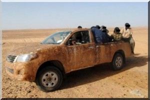 4 mauritaniens de la Jamaa Taouhid wel Jihad se rendent à l'armée algérienne