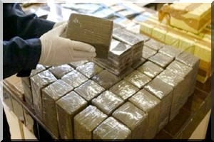 Saisie d'un camion transportant des quantités de drogue provenant du Maroc