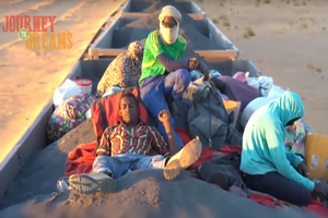 Chèvres, poussière noire et tempêtes de sable : voyage dans le