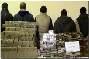 Mauritanie: arraisonnement d'un navire transportant 1,5 tonne de drogue