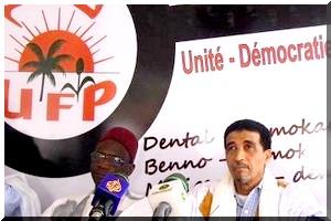 Déclaration : L'UFP soutient la marche des hratine