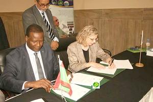 Signature d'un protocole d'accord entre notre pays et l'Union Internationale pour la Conservation de la Nature