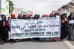 Libérés : veuves et orphelins du passif humanitaire déterminés à poursuivre la lutte