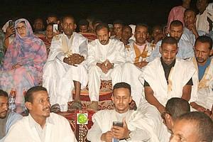 Le candidat El Wafi se réunit avec ses sympathisants dans la moughataa d'Amourj