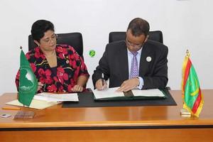La Mauritanie et l'Union Africaine signent 11 conventions et protocoles d'accords